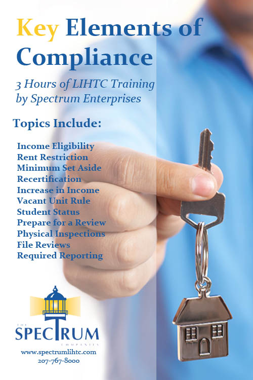 Spectrum Online LIHTC traning video poster